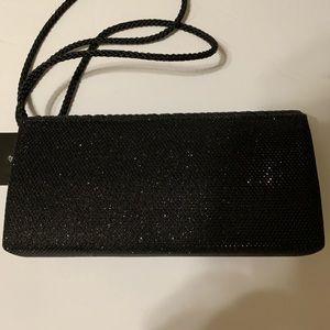 D'margeaux Bags - Sparkly Black Evening Bag - [BG-5]
